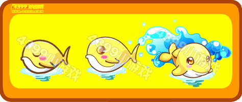 奥比岛黄金小海豚