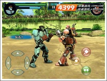 铁甲钢拳世界机器人拳击怎么连招