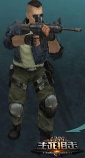 生死狙击角色—哈珀