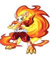 龙斗士烈焰狮王技能表 烈焰狮王属性图 烈焰狮王图鉴