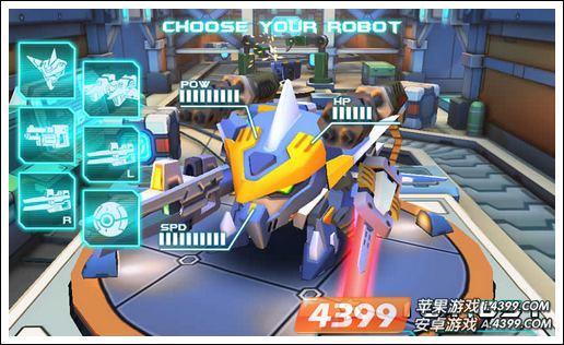 经典硬朗的机甲画风,可爱动人的机甲形象,这些都能让玩家能在游戏中