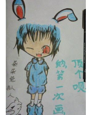 玉兔怎么画最简单可爱