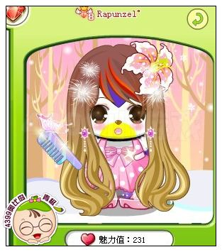 奥比岛教你搭配五大美丽发型