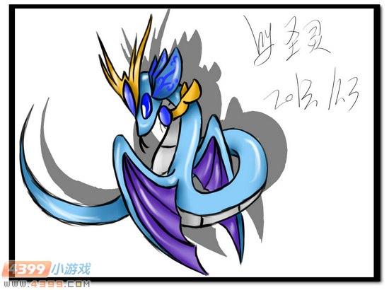 赛尔号自创精灵 蛇灵四形态