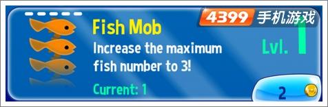 3D河豚鲍勃增大鱼群