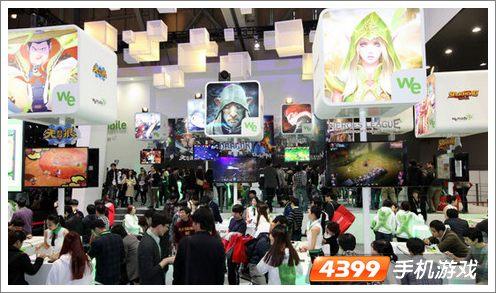 韩国G-Star2013游戏展会现场