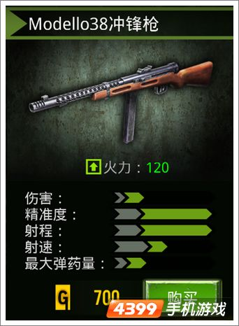 火线指令冲锋枪介绍
