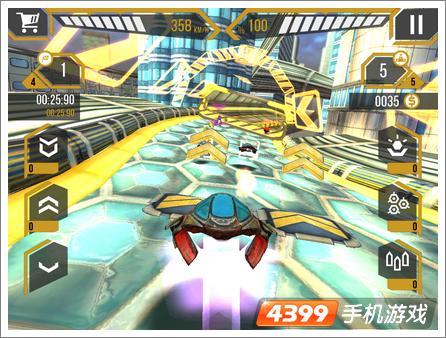 3D星际狂飙2基本玩法介绍