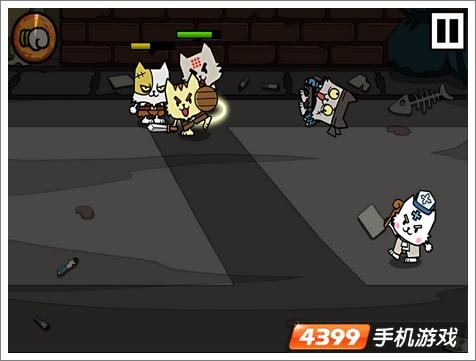 野猫刀锋战士游戏画面