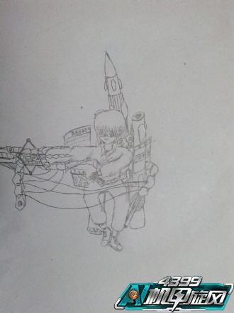 环太平洋机甲素描步骤