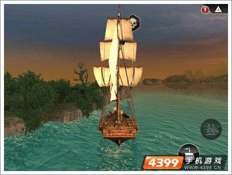 刺客信条海盗奇航快速调头技巧