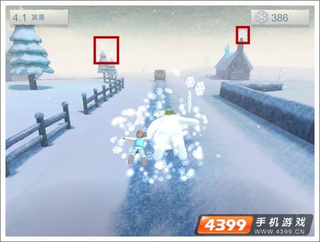 雪人与雪犬怎么获得更多雪花 心得分享