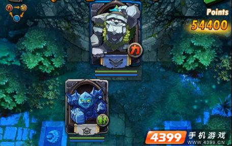 全民英雄半月林地巨石洞穴5-9蓝色小小攻略