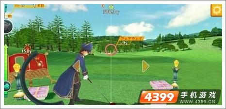 手机高尔夫漂亮鹰击