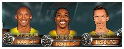 NBA梦之队基础知识