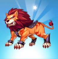 天天酷跑雷焰狮王满级