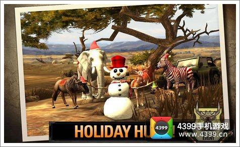 《猎鹿人2014圣诞节版》来袭 动物圣诞也狂欢