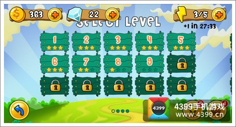 游戏中将祖玛中一个个浑圆的球替换成圆滚滚的动物,与游戏的主题相