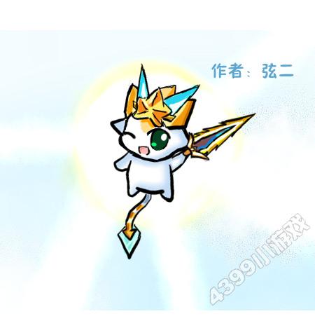 精灵鼠绘---圣骑小诺_4399奥奇传说