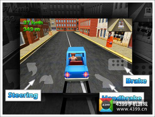 狂暴驾驶玩法