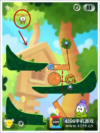 割绳子2攻略 森林1-28关三星攻略