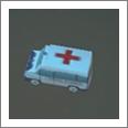 冬季交通管制3D救护车