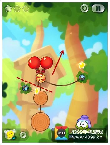 割绳子2攻略 森林1-31关三星攻略