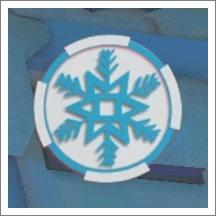 冬季交通管制3D雪花
