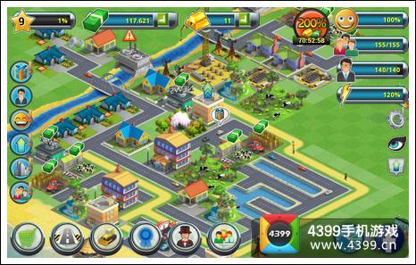 城市岛屿2建筑故事