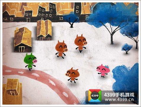 鼻涕猪游戏背景