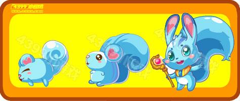 奥比岛迷你松鼠-圣泉松鼠进化图鉴及获得方法