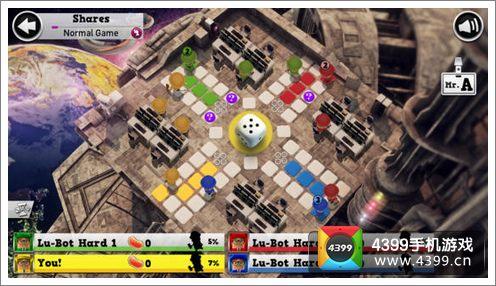 游戏的画面做得非常清新和可爱,让人体验轻松自如的棋盘乐趣.