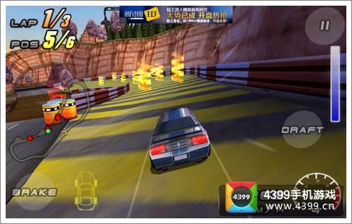 赛车小游戏4399_4399手机游戏网 雷霆赛车2 游戏评测 正文  游戏有一个非常有特点的