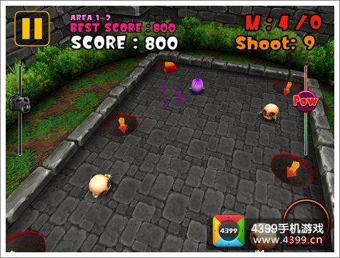 怪物游泳池HD游戏画面