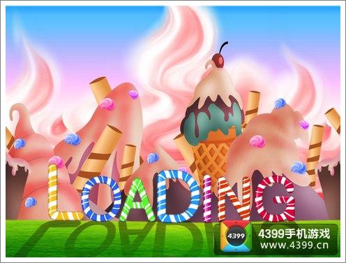 玩家扮演一只欢乐的小马,欢乐的在奔跑在粉嫩的糖果蛋糕世界中,在这图片