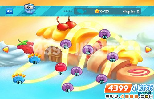 糖果世界》是一款特别的消消看类型的小游戏,游戏的音乐充满了可爱