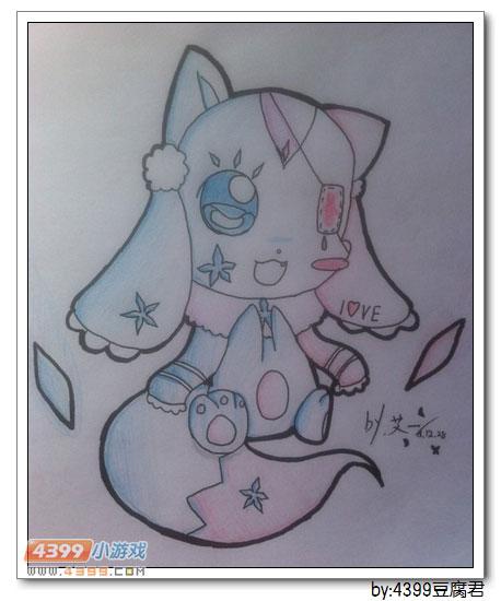 卡布手绘—血钻狐