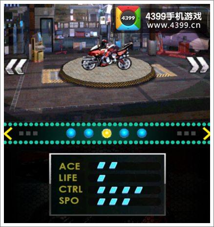 急速摩托赛车赛车大全