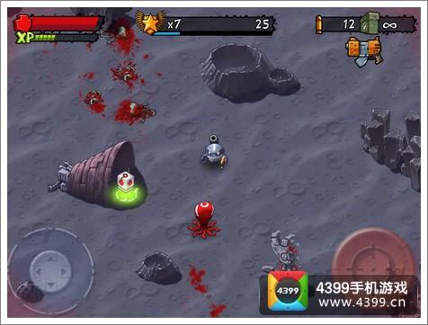怪兽射击失落破坏游戏画面