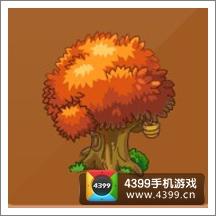 摩尔庄园豪华版大树木