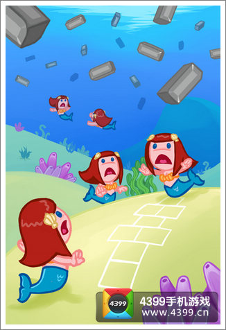 拯救美人鱼游戏画面