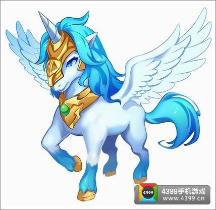 """""""梦幻神马""""是一款实力不菲的动物型坐骑."""