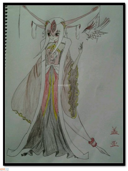 赛尔号手绘 古装女版战神联盟