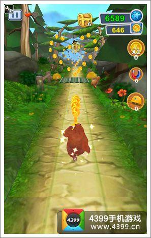 熊出没之熊大快跑怎么得高分