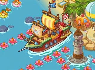 摩尔庄园豪华版探险船在哪 怎么探险