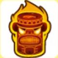 提基猴子岩石刚果猴