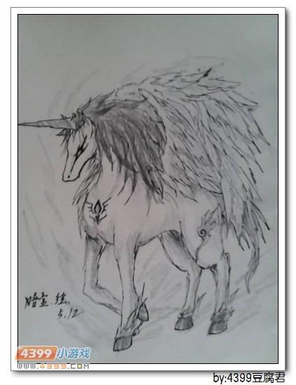 卡布手绘—独角兽