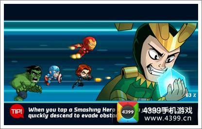 漫威英雄跑酷游戏内容
