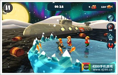 极地探险收集金鱼