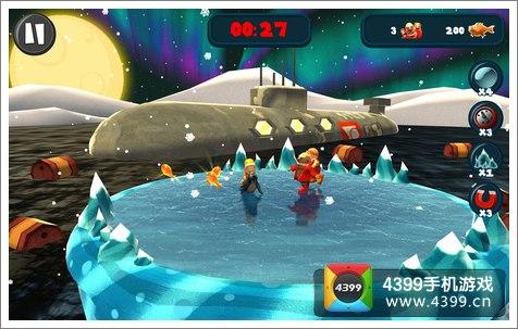 极地探险游戏画面